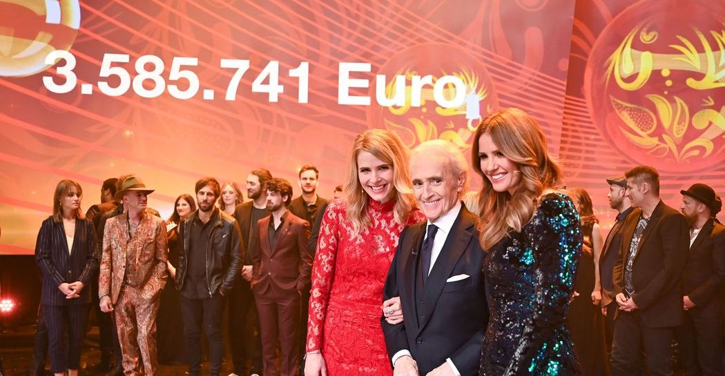 Voller Erfolg für die 25. José-Carreras-Gala