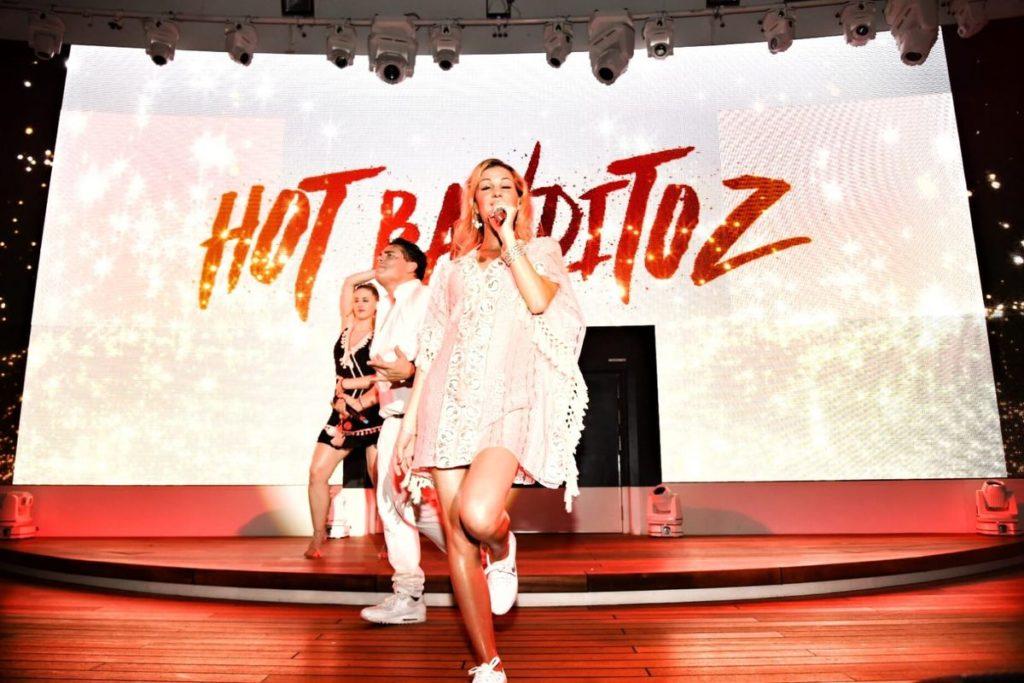 Hot Banditoz auf der AIDA