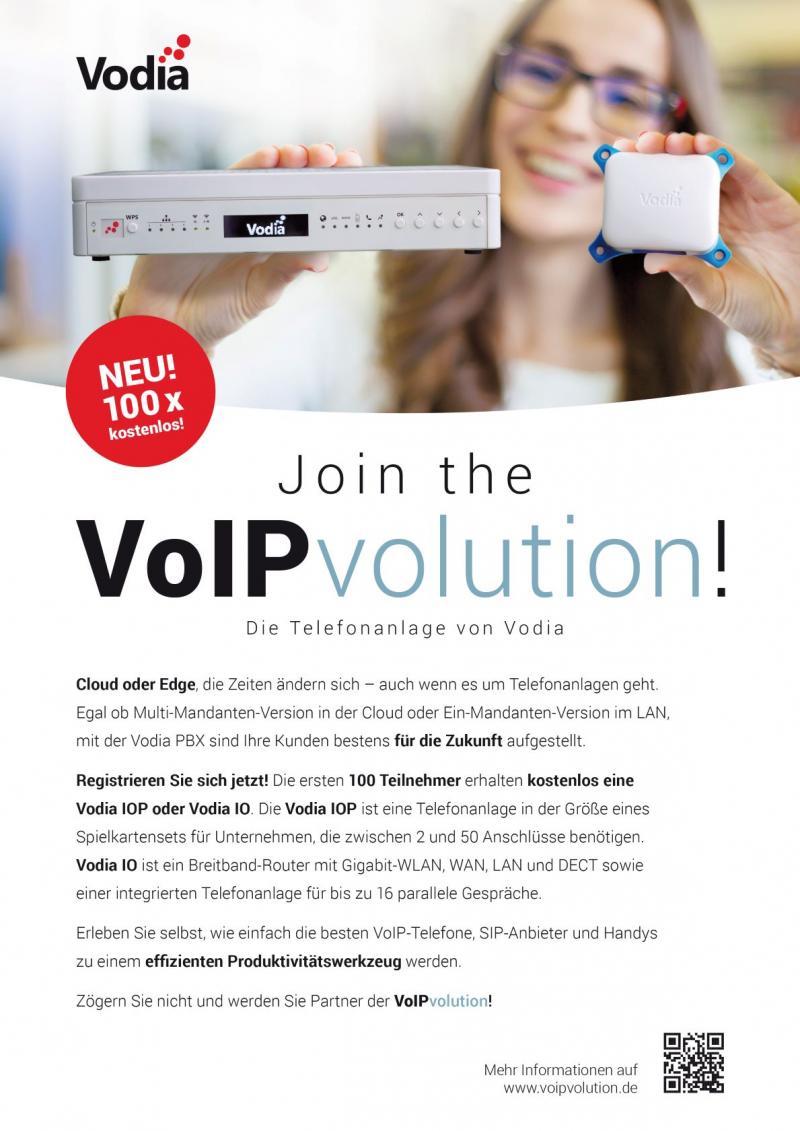 VoIP-Kampagne von Voida Networks