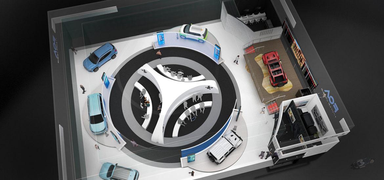Fiat Chrysler Automobiles auf der CES in Las Vegas
