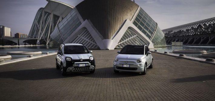Fiat startet Elektrifizierung mit Hybrid-Versionen von Fiat 500 und Fiat Panda