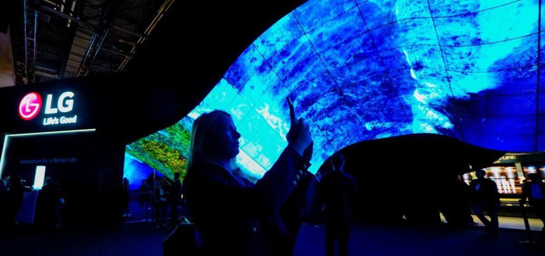 """CES: Die """"Wave"""" begrüßt Besucher"""