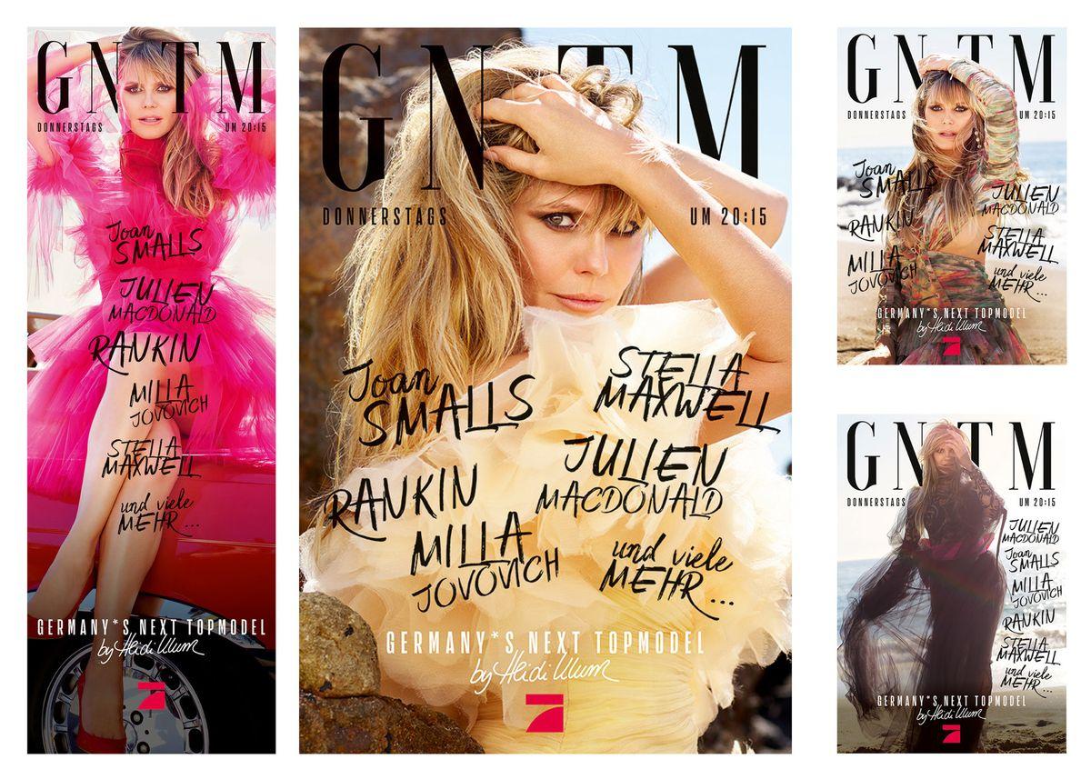 #GNTM-Kampagne: Starfotograf Rankin inszeniert Heidi Klum für ProSieben