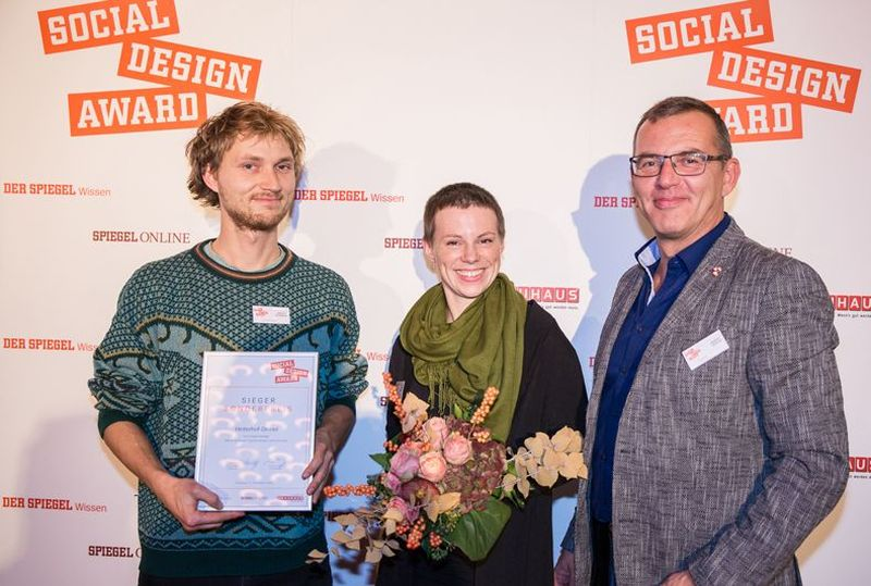 Gewinner des Social Design Awards aus dem letzten Jahr
