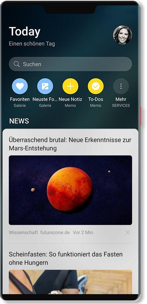 Squid App wird Nachrichtenanbieter auf Huawei-Smartphones