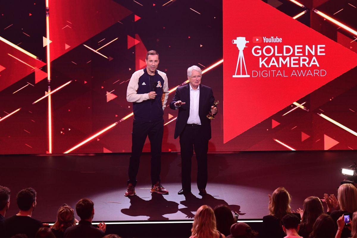 Format der Zukunft: YouTube Goldene Kamera Digital Award (ddp images)