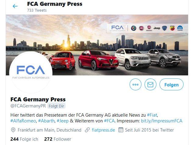 """Twitter-Kanal """"FCA Germany Press"""" blickt zurück auf 110 Jahre Alfa Romeo"""