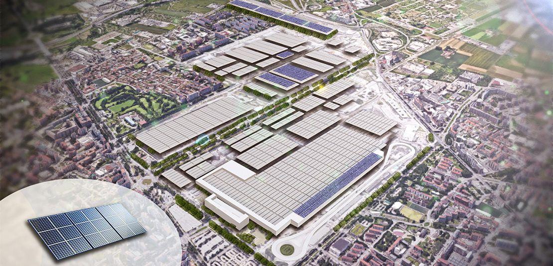Fiat Chrysler Automobiles investiert stark in Turiner Fabrikkomplex Mirafiori - Nachhaltigkeit und Produktion von Modellen mit Elektroantrieb im Fokus