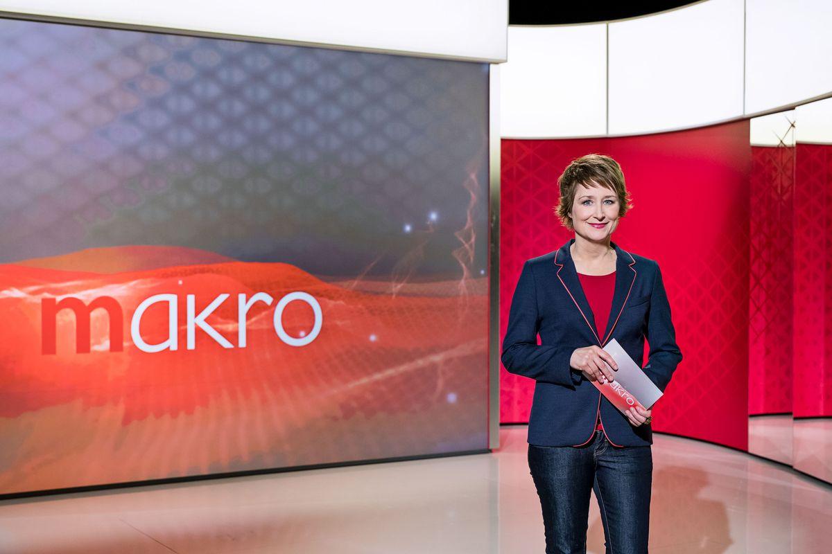 """makro""-Moderatorin Eva Schmidt"