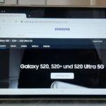 Das Samsung Galaxy S20 ist erhältlich