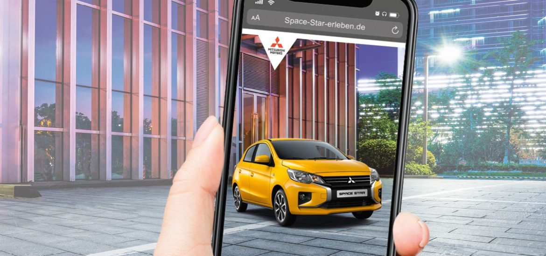 Augmented Reality: Auto im Wohnzimmer