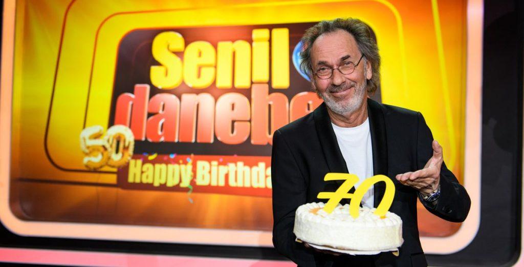 Senil daneben: Hugo Egon Balder feiert Geburtstag
