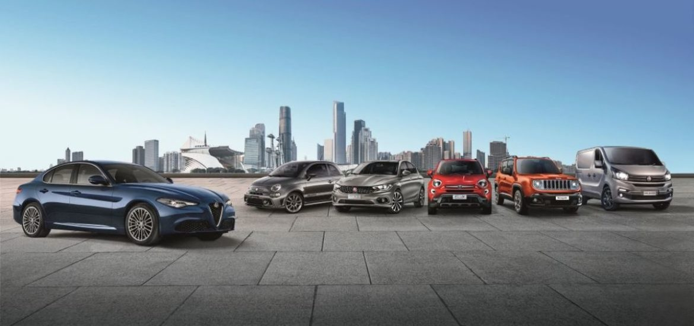 """Ab sofort """"Di più"""" – noch mehr – bei Abarth, Alfa Romeo, Fiat, Jeep® und Fiat Professional: """"Heute kaufen und erst im nächsten Jahr die erste Rate zahlen""""*"""