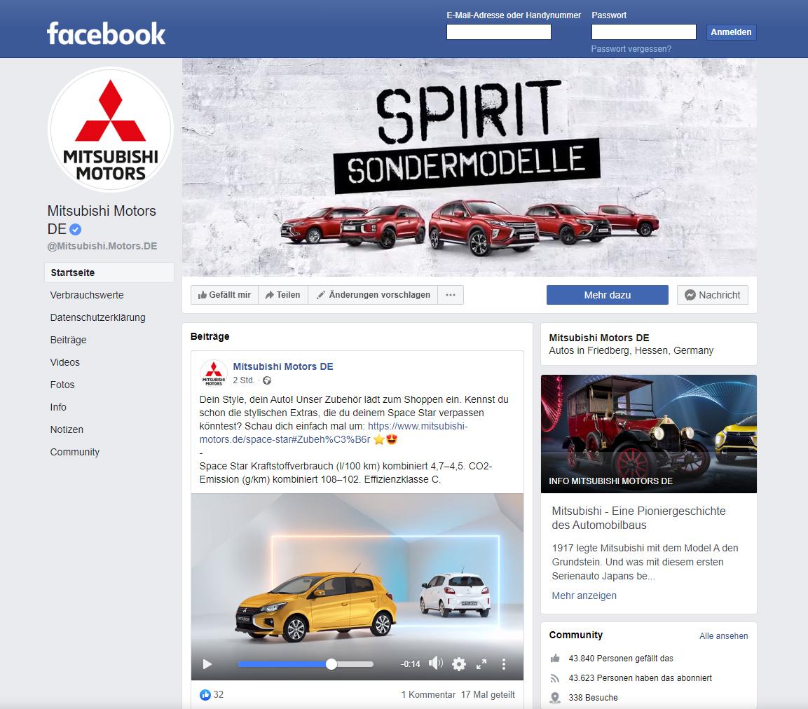 Social Media: Mitsubishi setzt auf Macaw