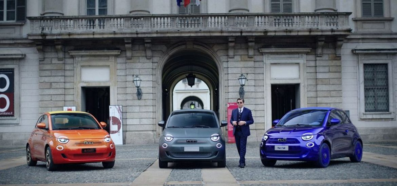 """Armani, Bvlgari und Kartell gestalten drei einzigartige Fiat 500 - Kurzfilm """"One-Shot"""" zeigt Hintergründe zum spektakulären Projekt"""