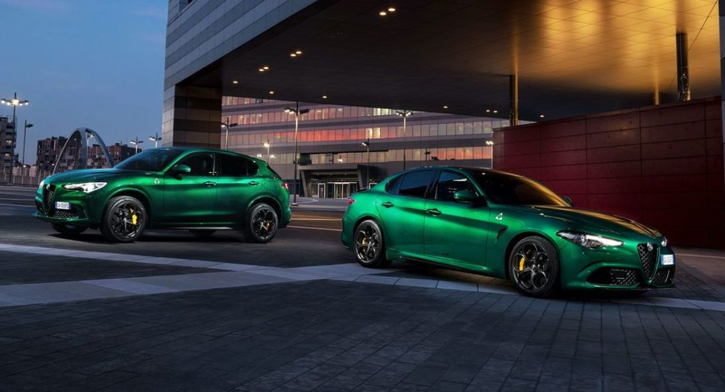 Alfa Romeo Giulia Quadrifoglio und Alfa Romeo Stelvio Quadrifoglio im neuen Modelljahr noch leistungsfähiger in allen Bereichen