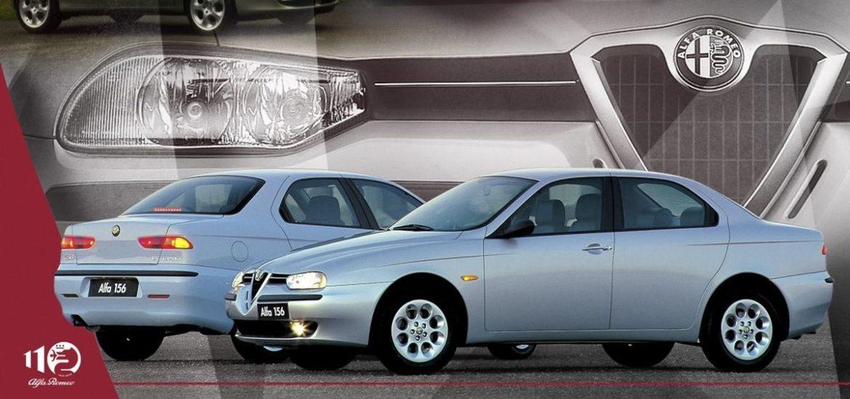 110 Jahre Alfa Romeo im Zeitraffer: Design, Dynamik, Innovation – der Alfa Romeo 156