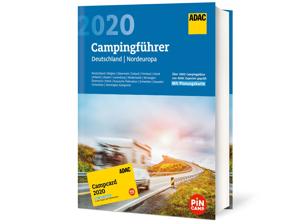 ADAC-Campingführer 2020 für Deutschland und Nordeuropa
