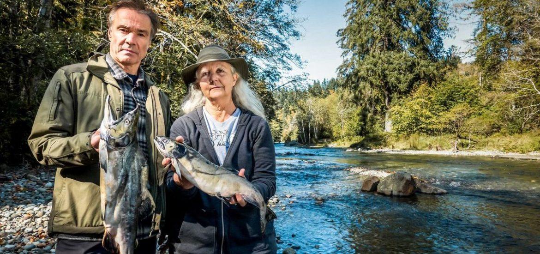 Doku: Hannes Jaenicke ist für den Lachs im Einsatz