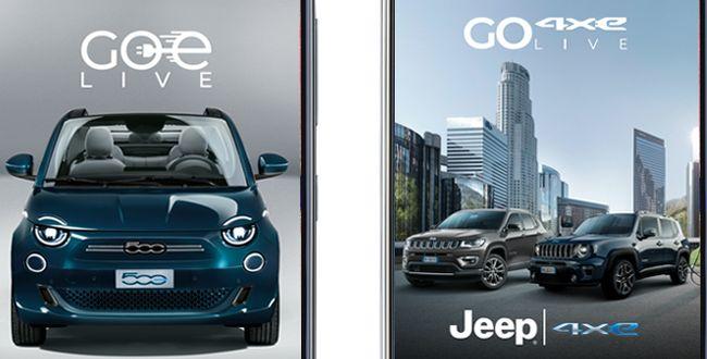 Neue App GOe simuliert Fahrten mit den neuen Elektro- und Hybrid-Fahrzeugmodellen von Fiat Chrysler Automobiles