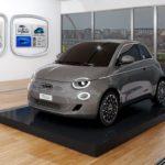 Geburtstag des historischen Fiat 500 – rein elektrisch angetriebener Fiat 500 ab sofort bestellbar