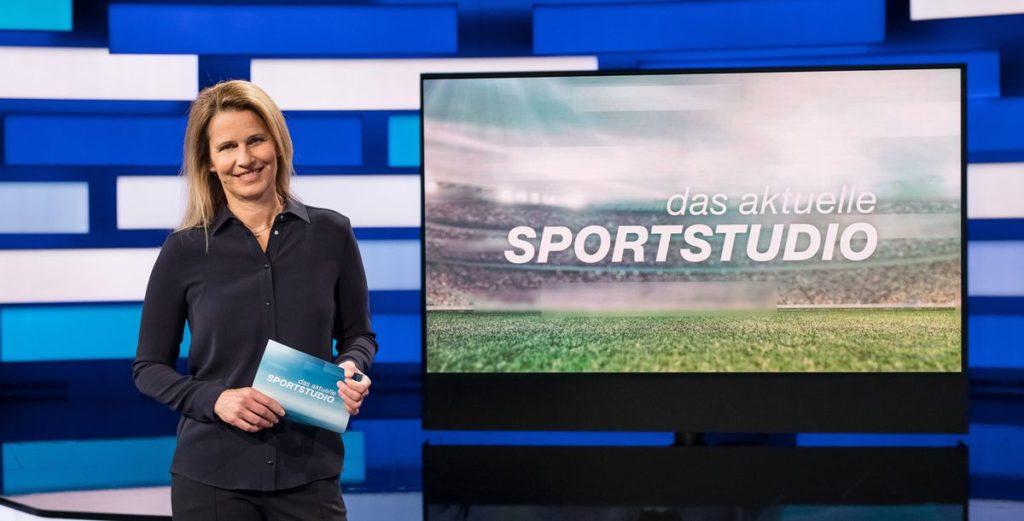 """Angelique Kerber zu Gast im """"aktuellen sportstudio"""""""