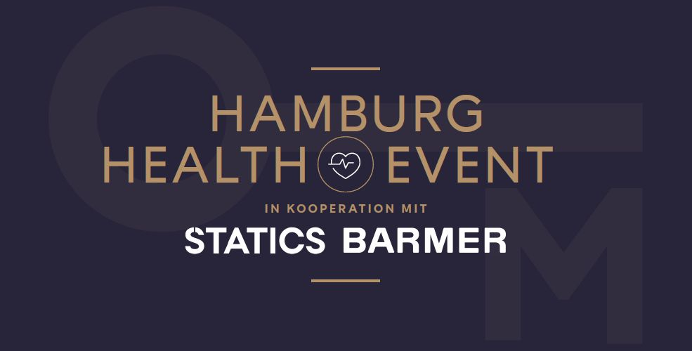 Hamburg Health Event der Memeberslounge in Kooperation mit Statics Barmer