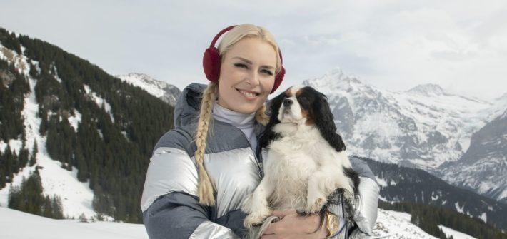 """Hundeliebe: Lindsey Vonn und Lucy als Gastgeber bei """"The Pack"""""""