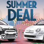 """Umwelt schonen und Geld sparen mit dem """"Summer Deal"""" – Sonderfinanzierungen für Hybrid-Modelle von Fiat 500 und den neuen Fiat Panda Urban"""