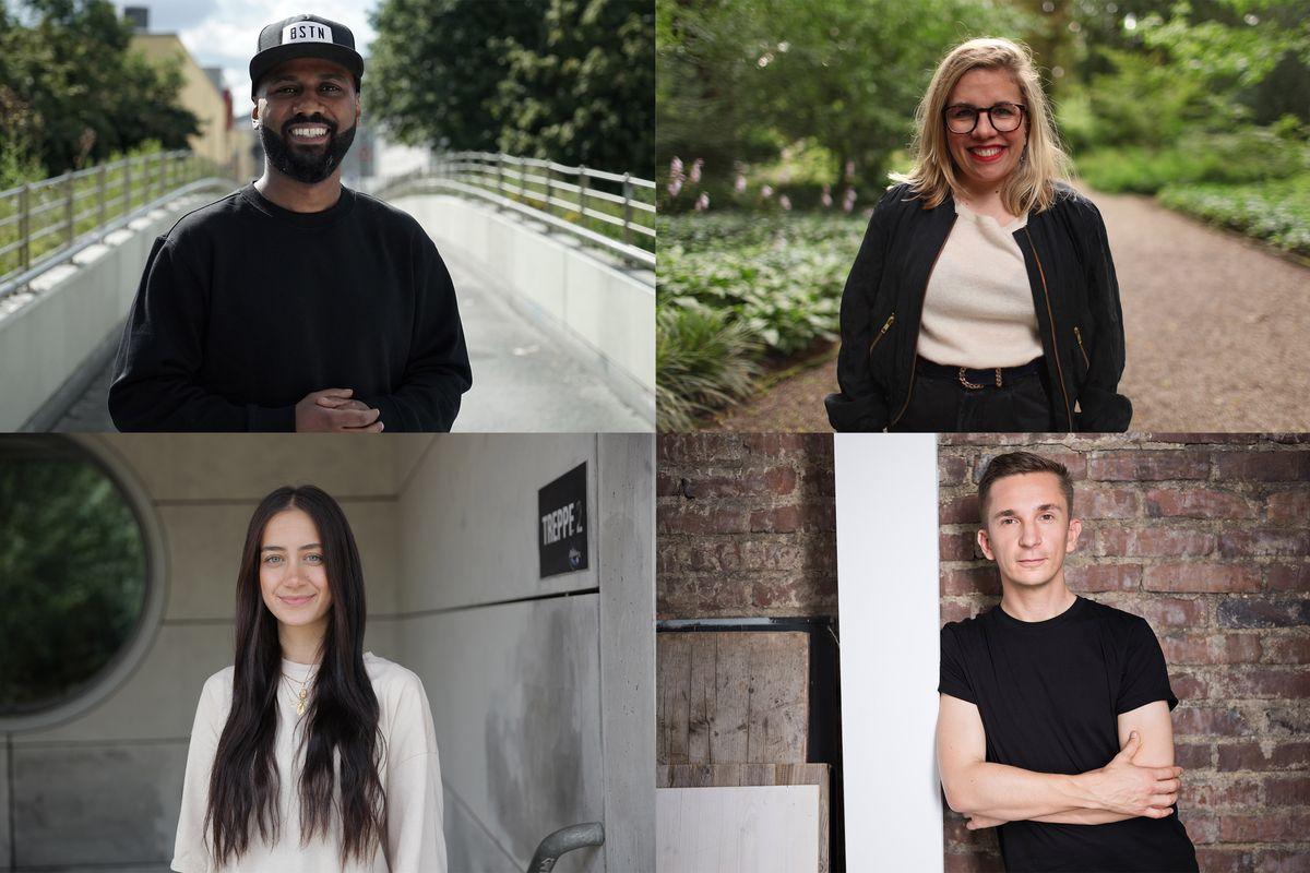 Aimen Abdulaziz-Said, Ninia Binias, Helen Fares, Eric Mayer