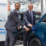 Vehicle-to-Grid-Projekt im Werk Mirafiori von Fiat Chrysler Automobiles vorgestellt