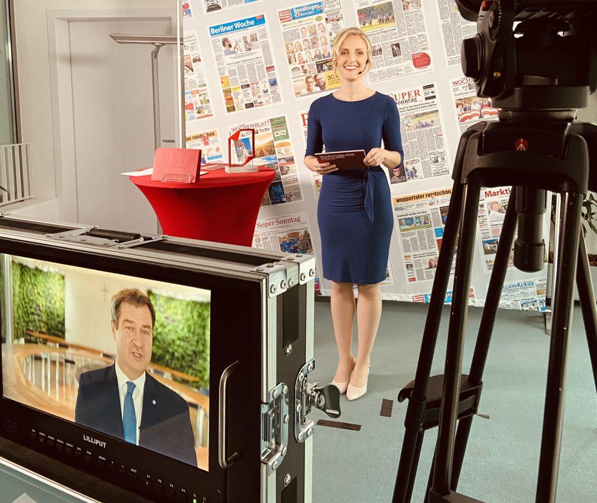 """Videobotschaft von Dr. Markus Söder, bayerischer Ministerpräsident, zur digitalen Verleihung des BVDA-Medienpreises """"Durchblick 2020"""""""