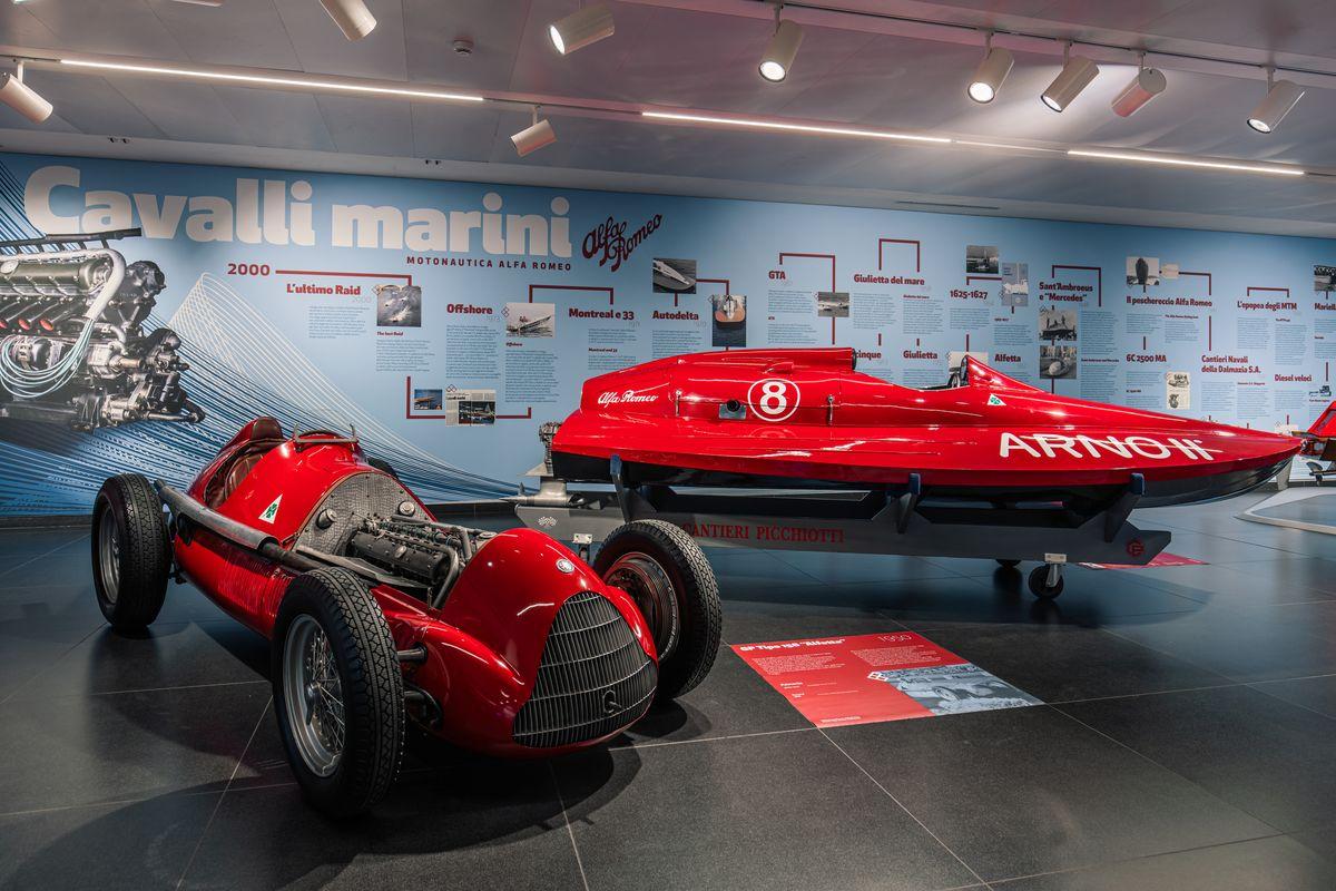 Mit Formel-1-Motoren von Alfa Romeo zu Titeln und Rekorden auf dem Wasser