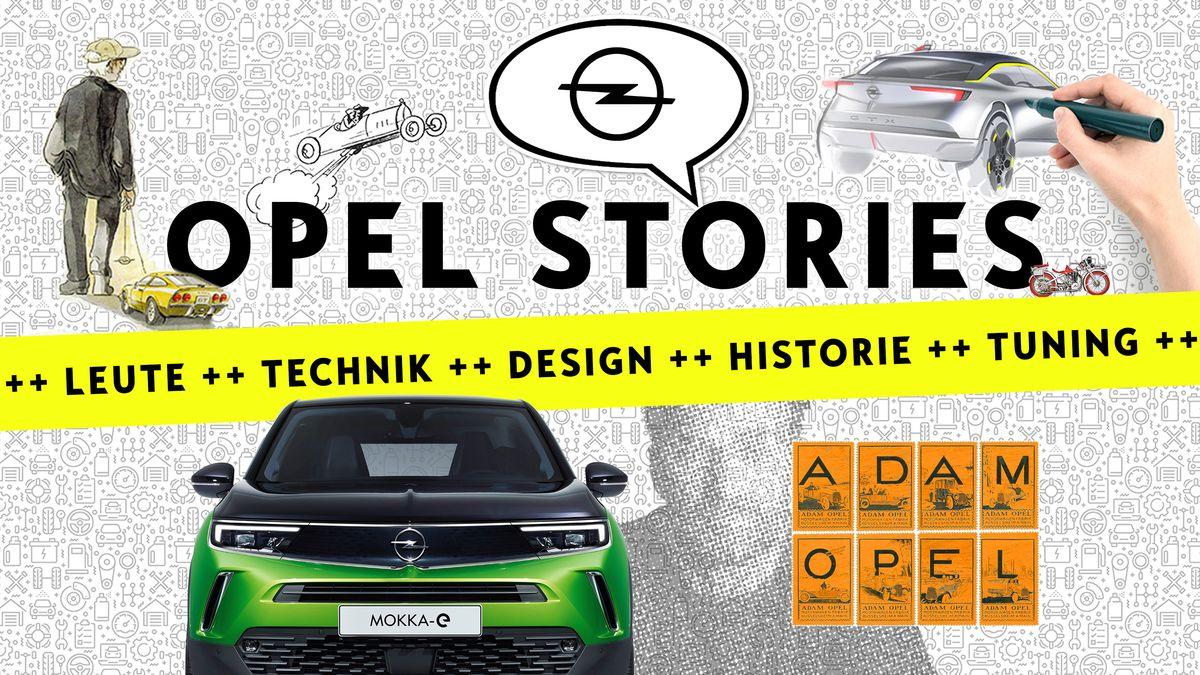 Die Presseabteilung von Opel schreibt Geschichten