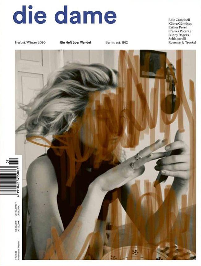 """Aktuelle Ausgabe von """"Die Dame"""""""