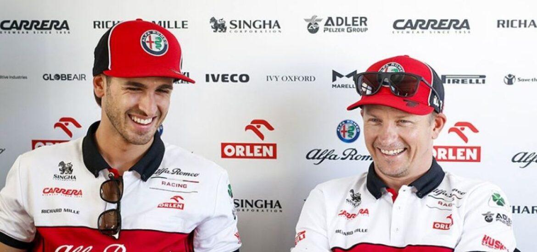 Formel-1-Team Alfa Romeo Racing ORLEN bestätigt Kimi Räikkönen und Antonio Giovinazzi als Fahrer für die Saison 2021