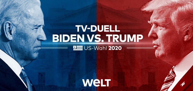 Finales TV-Duell: Trump vs. Biden in der Nacht auf Freitag live