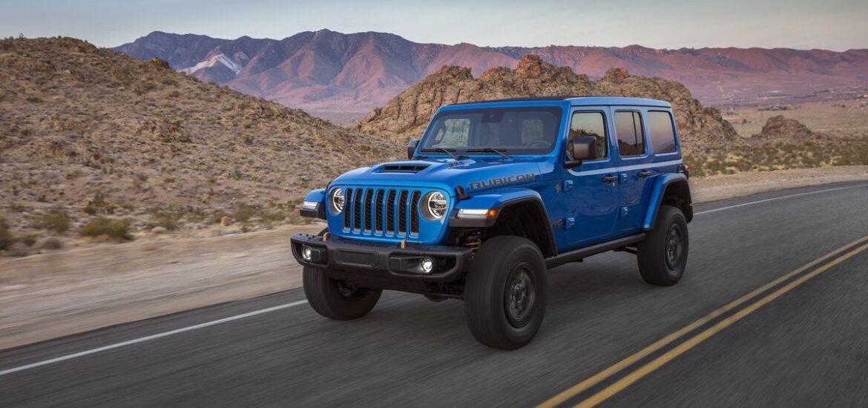 4x4x470! Die Kombination aus legendären 4x4 Eigenschaften und V8-Motor macht den neuen Jeep® Wrangler Rubicon 392 zum fähigsten aller Wrangler