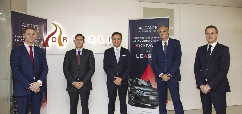 FCA Bank erwirbt über Tochtergesellschaft Leasys spanischen Autovermieter Drivalia