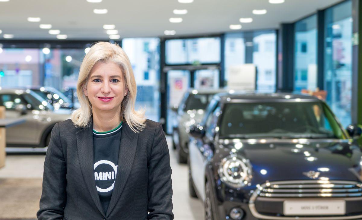 Susanna Eiber leitet das Mini-Marketing