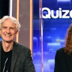 Elena und Mathieu Carrière beim Quizduell-Olymp