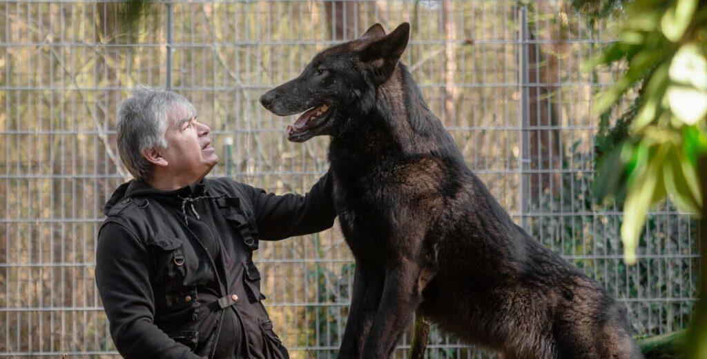 Christian Berge: Der mit dem Wolf lebt