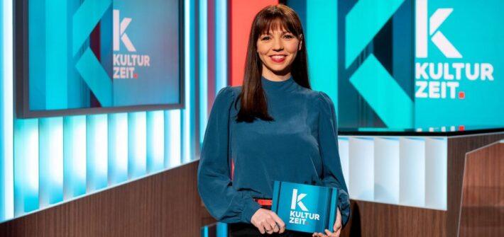 """Lillian Moschen: Neue """"Kulturzeit""""-Moderatorin geht on Air"""