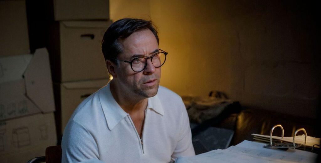 """Jan Josef Liefers in """"Requiem für einen Freund"""""""