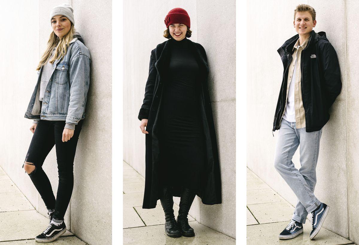 Julia Evels, Merle Trautwein und Hilko Fischer (v. l.) belegten mit ihrer Kampagne für den Bundesvorstand der Mütterzentren einen von drei ersten Plätzen in einem Designseminar.