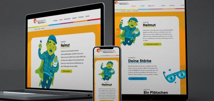 Imagekampagne: Verliebt in Helmut
