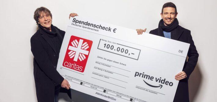 Amazon Prime Video spendet 100.000,- Euro an Suchtberatung