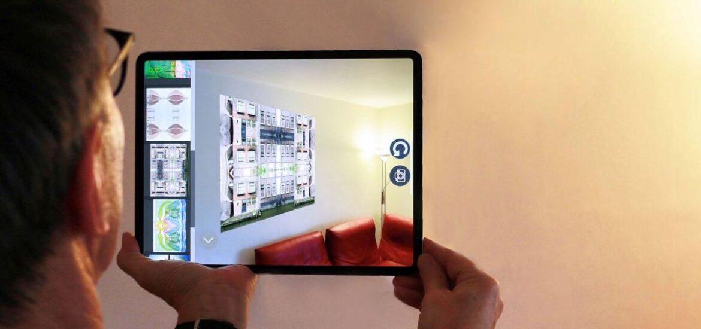 Kunstwerke mit der Augmented-Reality-App ausprobieren