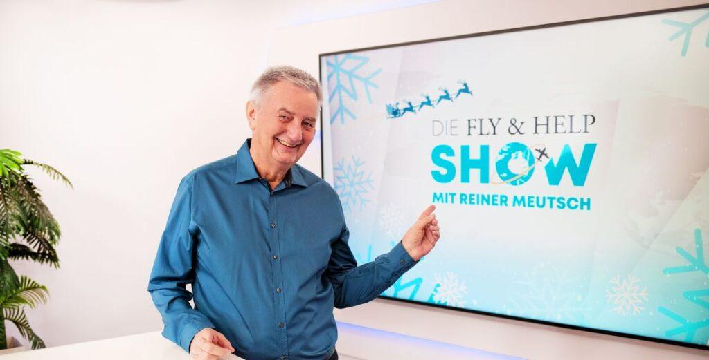 """Heino kommt: """"Fly & Help Show"""" erhält Primetime-Platz"""
