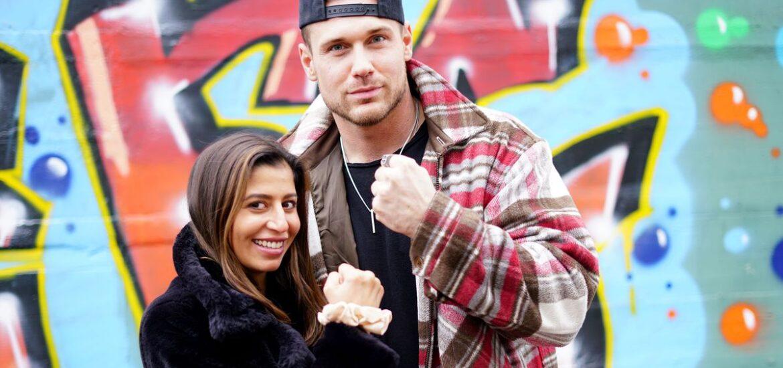 Eva Benetatou und Chris Broy gehen wieder zur Schule